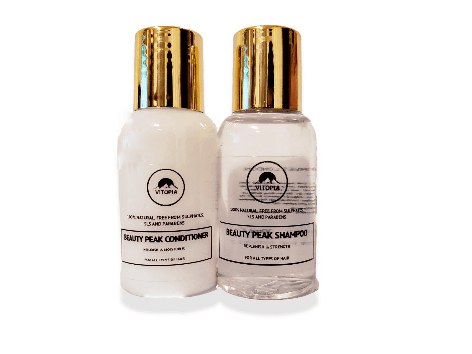 Beauty Peak Shampoo & Conditioner Travel