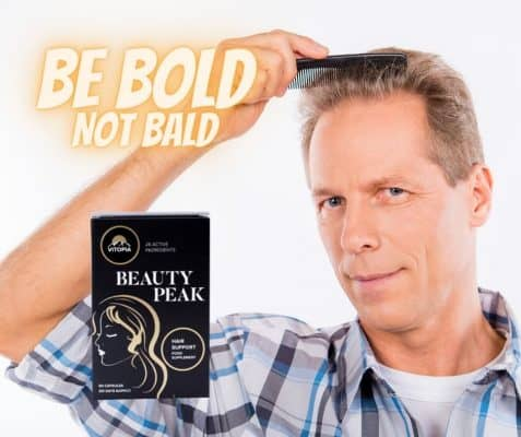 Beauty peak hair man4